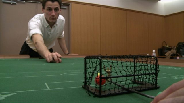 Table top football game Subbuteo now features an all-women's team