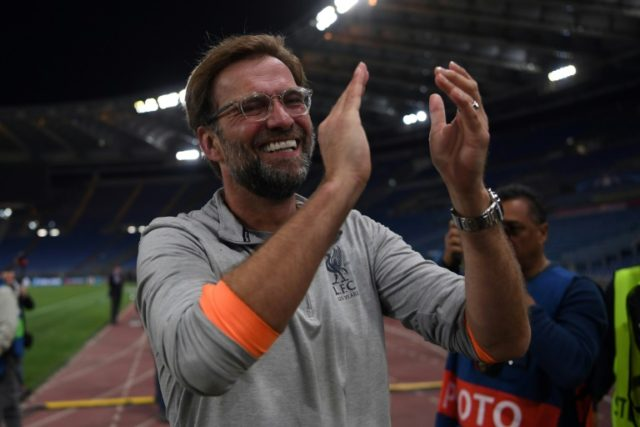 Happy for now, Jurgen Klopp expects improvements from his Liverpool players for the May 26 Champions League final against 12-times champions Real Madrid