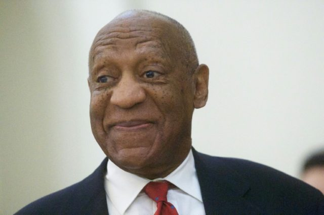 A jury convicted Bill Cosby, pictured during his trial, on three counts of sexual assault