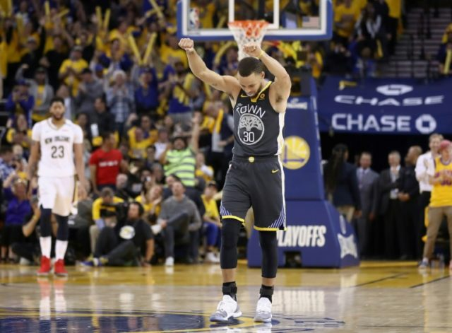 Stephen Curry of the Golden State Warriors had been sidelined since March 23 with a sprained knee ligament suffered in his return from a right ankle injury