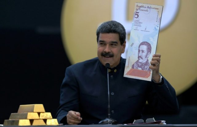 In March, Venezuelan President Nicolas Maduro ordered a redenomination of the bolivar whose value has completely collapsed