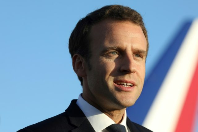 "During his visit to Sydney, French President Emmanuel Macron said that France, India and Australia shared a responsibility to protect the region from ""hegemony"" -- in a remark widely interpreted as a stab at China"