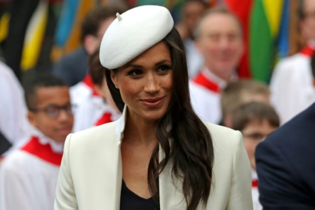 Meghan Markle is preparing to marry Prince Harry on May 19