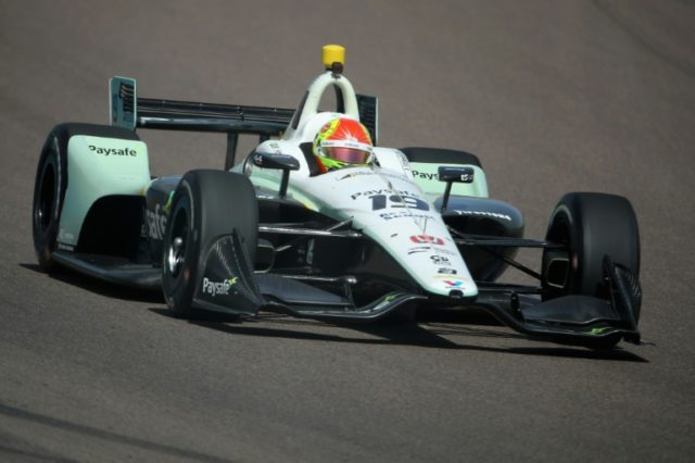 Pietro Fittipaldi driver of the Dale Coyne Racing Honda IndyCar during practice for the Verizon IndyCar Series Phoenix Grand Prix at ISM Raceway on April 6, 2018 in Avondale, Arizona