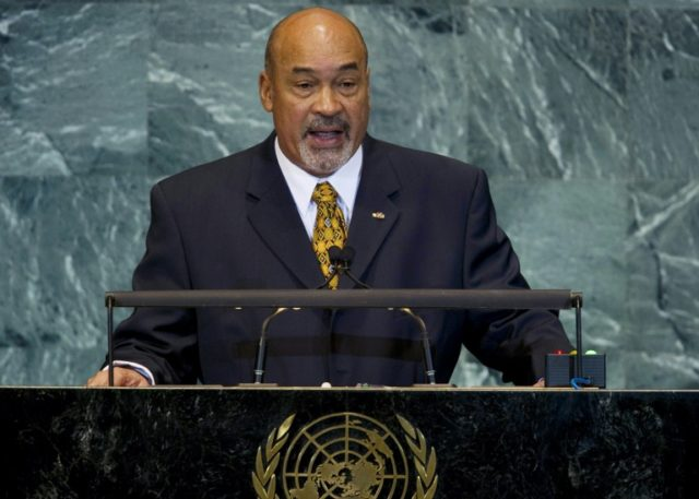 Suriname President Desi Bouterse, pictued at the UN in New York in 2010, termed the attacks a tragedy but said gang rivalry, as opposed to piracy, may have been the cause
