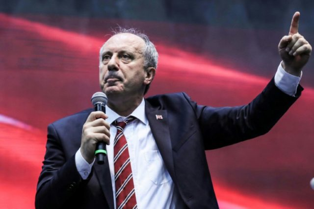 Muharrem Ince has been named as Turkey's main opposition Republican People's Party (CHP) candidate to challenge President Recep Tayyip Erdogan