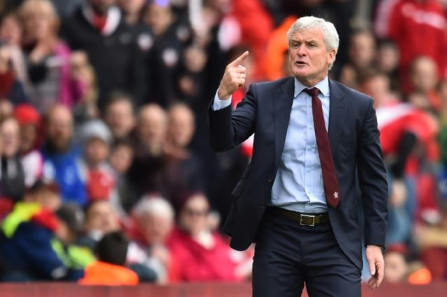 Mark Hughes was brought in to replace Mauricio Pellegrino as Southampton boss in March