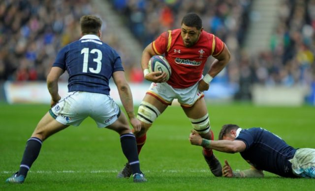 Wales's Taulupe Faletau (C) has made 29 appearances for Bath since arriving at the Recreation Ground from Welsh regional side the Dragons