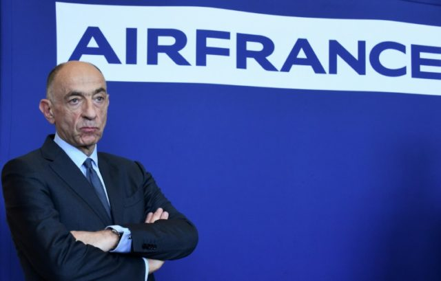 Air France-KLM chief puts job on the line in standoff with unions