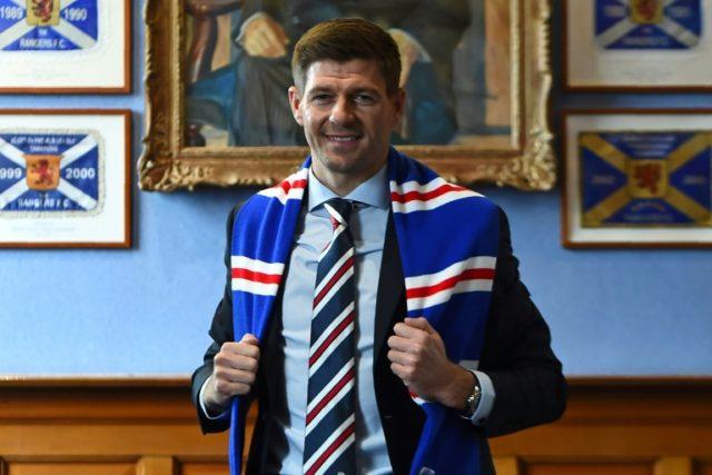 Steven Gerrard has the daunting task at Rangers of toppling Celtic