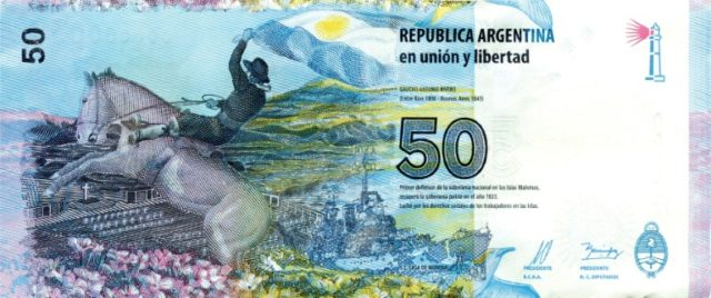 Riding to the rescue of Argentina's peso: the Central Bank has raised rates three times in just over a week to defend the national currency