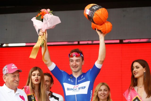 Elia Viviani praised his girlfriend Elena Cecchini for her patience during his busy start to the year