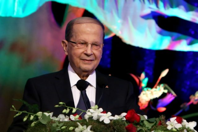 Lebanon's President Michel Aoun said he felt confident that the poll would bring about a more proportional government