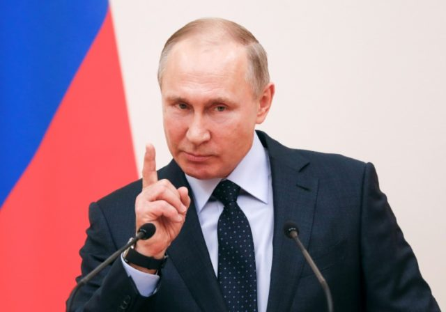 Russian President Vladimir Putin has been wielding power for 18 years