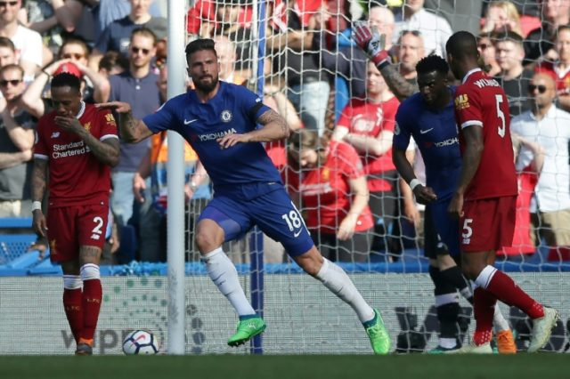 Olivier Giroud has scored four goals in his last five matches for Chelsea after a slow start