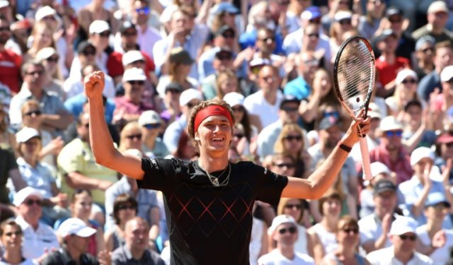 World number three Alexander Zverev retained the Munich title on home soil