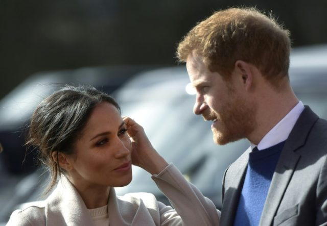 Britain's Prince Harry and his fiancee Meghan Markle will tie the knot on May 19