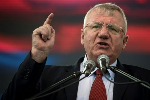 "Serbian ultranationalist poltiician Vojislav Seselj in 1992 urged the expulsion of local Croats, which earned him a 10-year jail sentence upheld on appeal in The Hague which he rejected, saying recently he was ""proud"" of his actions"