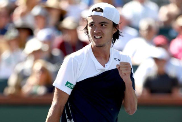 Taro Daniel beat Novak Djokovic at Indian Wells in March - his first defeat of a top 20 player