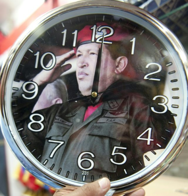 Hugo Chavez who pulled Venezuela's clocks back by half an hour in 2007, a move that was undone by his successor Nicolas Maduro nearly a decade later