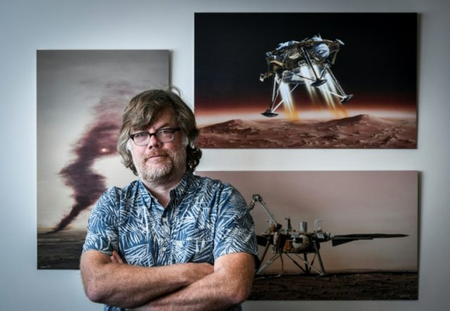 Philippe Lognonne, the principal investigator for the SEIS experiment on the NASA InSight Mission, has always wanted to know what's going on under Mars' famously red surface