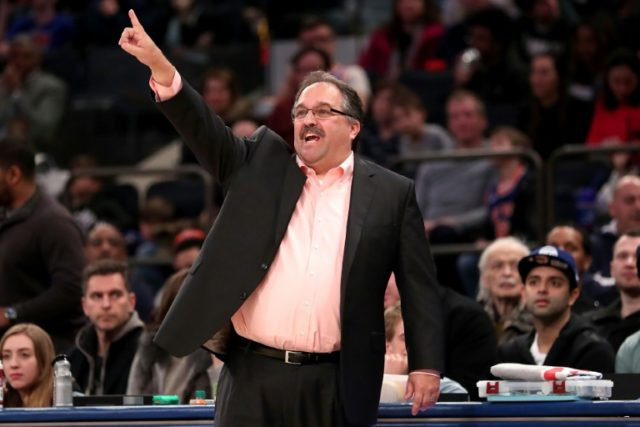 Stan Van Gundy, pictured in March 2018, leaves the Detroit Pistons with two holes to fill, coaching and organizing team personnel
