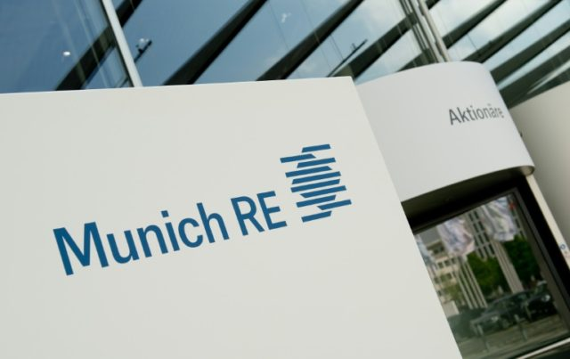 Net profit attributable to shareholders at Munich Re group reached 826 million euros ($984 million) between January and March, up 49.2 percent year-on-year