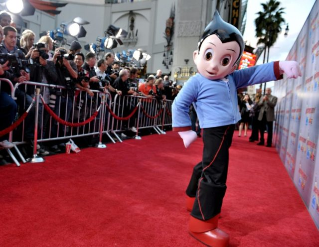 The red carpet of the premiere of 'Astro Boy' at the Chinese Theater in Los Angeles