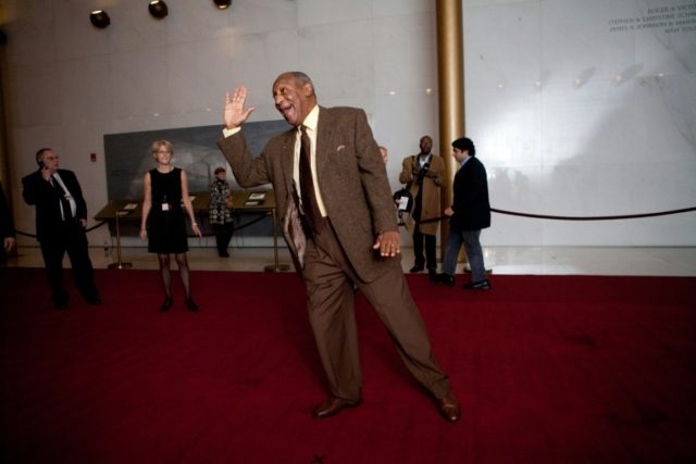 The Kennedy Center has rescinded two awards it had bestowed on Bill Cosby, shown here at the performance hall for the 12th annual Mark Twain Prize for American Humor in 2009