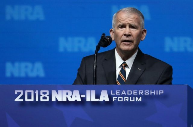 Oliver North Takes Over As National Rifle Association President