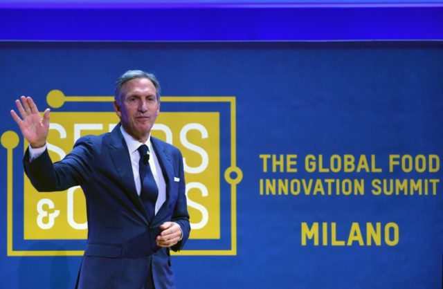 Starbucks' chief Howard Schultz waves hello to Italy, where he was inspired to create the coffee shop chain, and plans to open later this year its first outlet in the country home to espresso