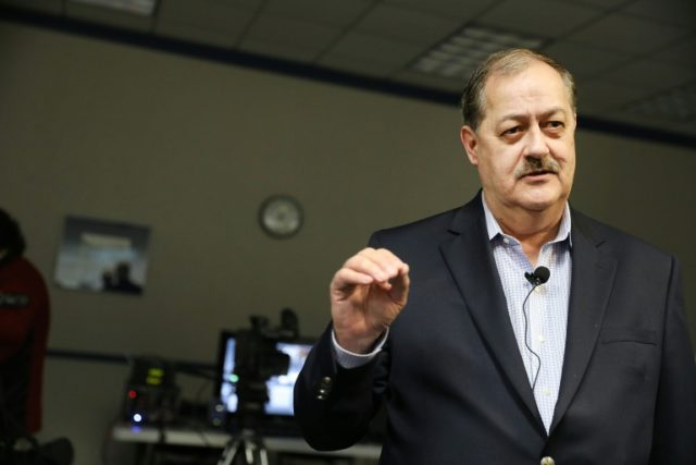 As Republican concern over the November 2018 mid-term elections grows, US President Donald Trump urged voters in West Virginia to reject Republican Senate candidate Don Blankenship (pictured), a former coal baron who recently spent a year in prison, and choose one of two other more mainstream alternatives
