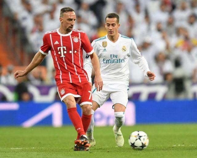 Franck Ribery won the Champions League with Bayern Munich in 2013