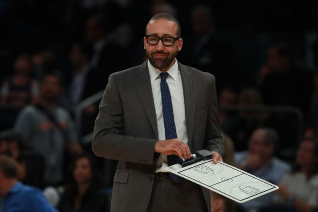 "David Fizdale, pictured in 2016, said, ""I am honored and humbled to join the Knicks"""