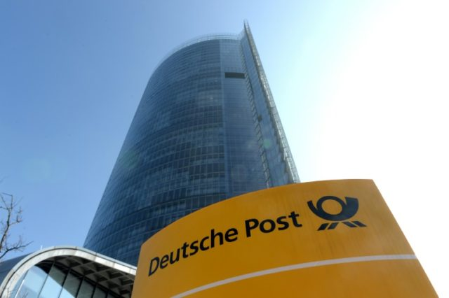 German logistics group Deutsche Post DHL said net profits were down 5.2 percent year-on-year between January and March