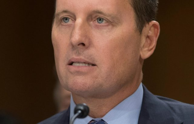 Richard Grenell, US ambassador to Germany who formally takes up his position Tuesday at a time of strained ties between the two allies