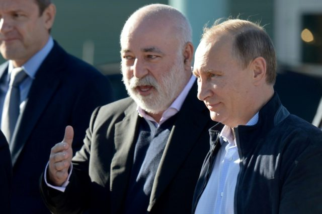 Viktor Vekselberg, left, has reportedly been questioned by FBI agents over hundreds of thousands of dollars his company's US affiliate paid to President Donald Trump's longtime personal attorney