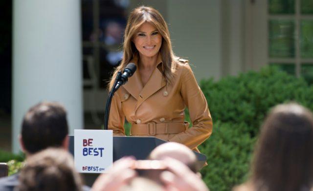 White House blasts 'opposition media' in Melania booklet flap