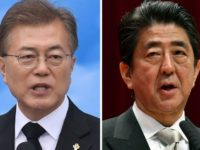 South Korea's Moon Jae-in will meet with Japanese Prime Minister Shinzo Abe but the relationship between their two countries has been tense for decades