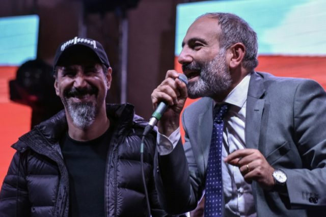 On the eve of the parliamentary vote in Armenia, Nikol Pashinyan swapped his trademark camouflage T-shirt for a suit