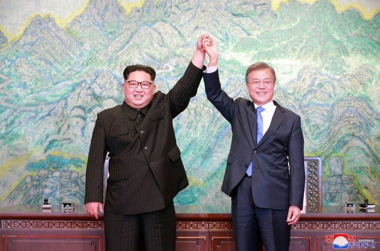 After years of isolation and sanctions prompted by its missile and nuclear programme, Pyongyang's relationship with the outside world has rapidly warmed, with a historic summit last week between Kim Jong Un and Moon Jae-in