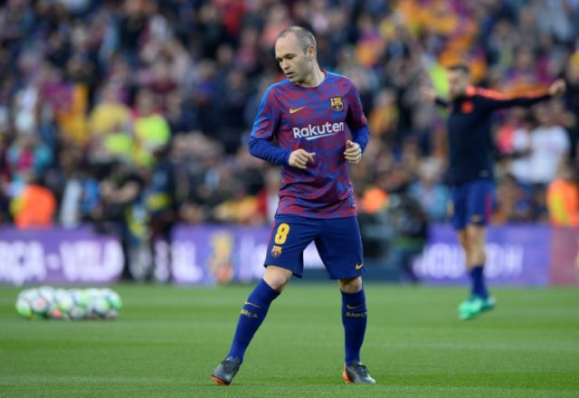 """Spain's Sport website named the A-League as Barcelona midfielder Andres Iniesta's """"preferred destination"""", although Japan's Vissel Kobe is also seen as one of his possible next moves"""
