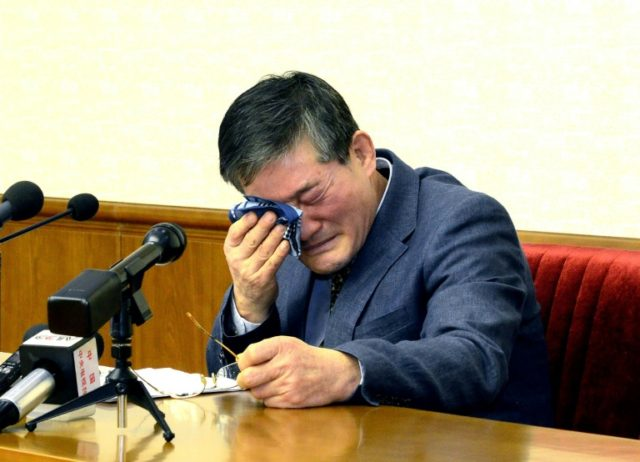 Kim Dong-chul, a South Korea-born American businessman, is one of three US citizens who were detained in North Korea