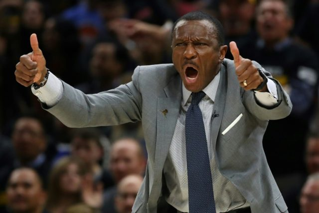 Toronto Raptors head coach Dwane Casey is the recipient of the annual Michael H. Goldberg Coach of the Year Award