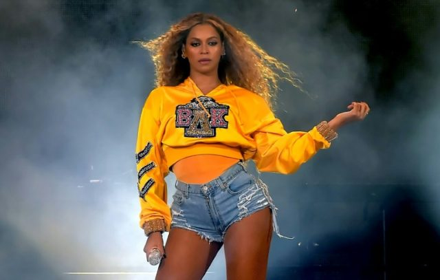 Beyonce, seen here at Coachella, has launched an album exclusively on streaming platform Tidal