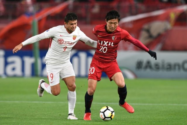Kashima Antlers, Japan's most successful team, beat Shanghai SIPG 3-1 in their Asian Champions League last 16 tie