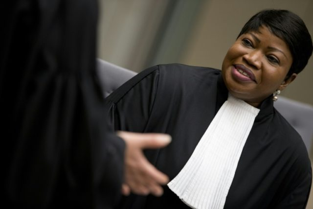 The International Criminal Court's chief prosecutor, Fatou Bensouda, is requesting UN help in arresting three Libyan fugitives