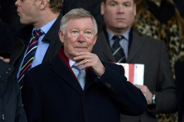 Recovery: Alex Ferguson is out of intensive care
