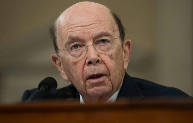 "US Commerce Secretary Wilbur Ross warned of a ""wide"" gap with China on trade, but hopes for improvement"