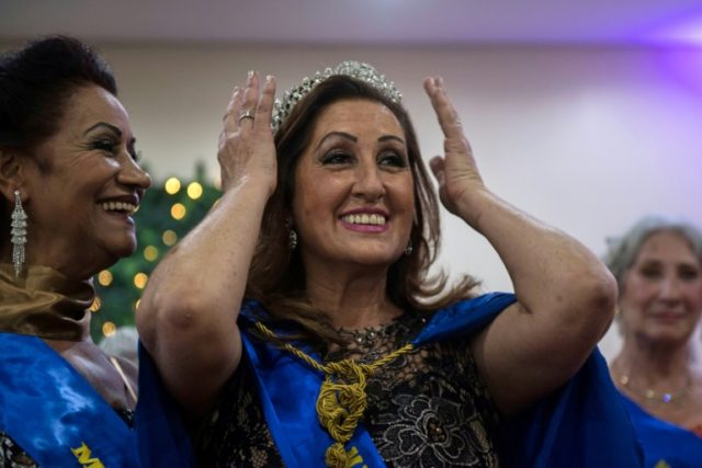 Brazilian Rosalia Pereira, 62, is crowned Sao Paulo's senior beauty queen